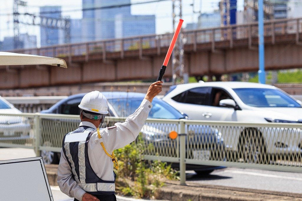 交通誘導警備業務の目的は?
