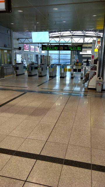 東静岡駅 エスカレーター点検 南北自由通路オートウォーク点検