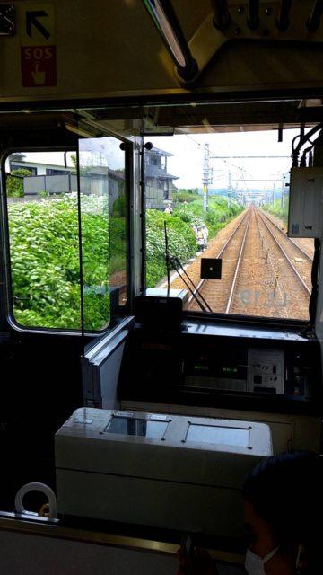 列車見張業務 列車接近合図